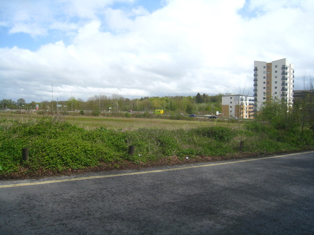 Vacant land by the hospital