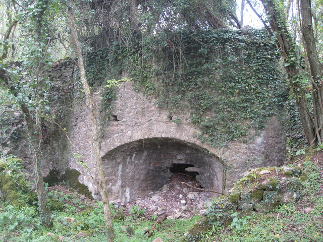 Lime Kiln - Ransley Quarry - East Ogwell