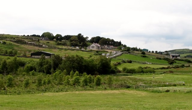 Rural settlement at Upper Tullyree