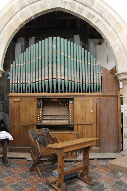 Organ, St Luke's church, Stickney