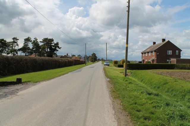 Road near Bishops Farm