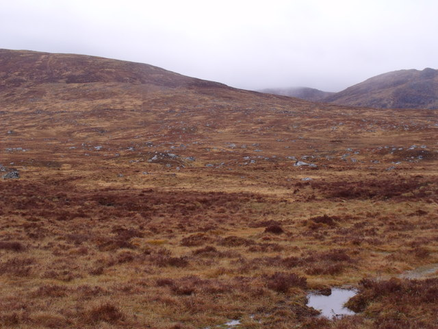 Rannoch Moor below Sron Leachd a' Chaorainn