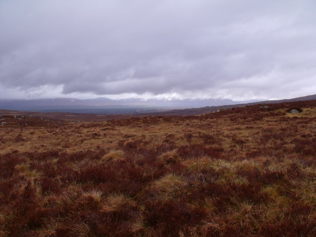 Ground east of Allt Molach on Rannoch Moor