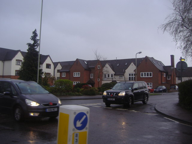 Houses on Dane Park from Hadham Road