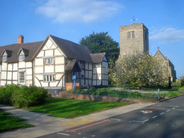 Church Cottage and St James's church