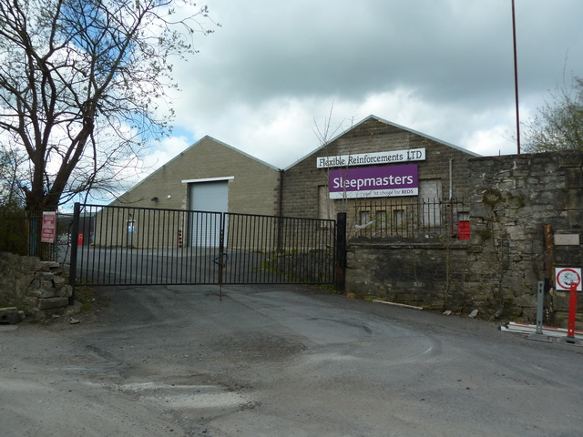 Commercial Mill, Clitheroe