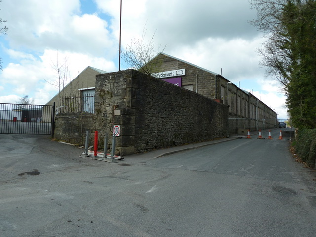 Commercial Mill and Woone Lane, Clitheroe