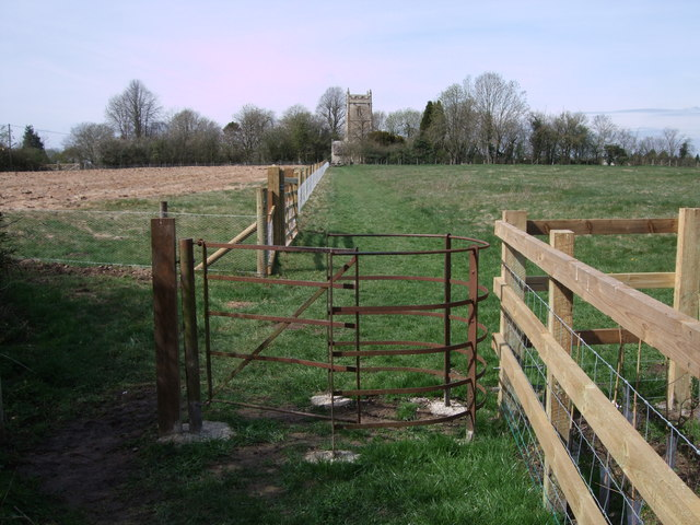Footpath to Hankerton Church