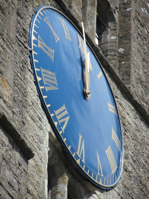 St Mildred's Church tower clock