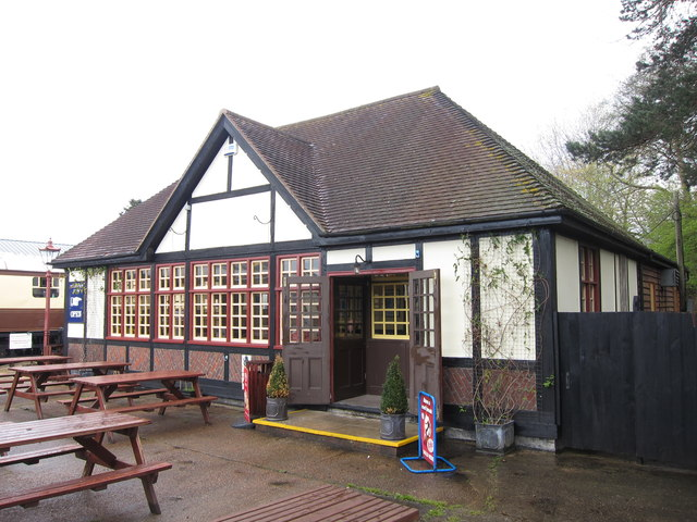 Bus Station café at Tenterden Station