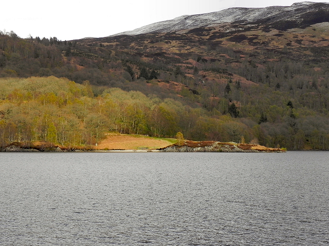 Southern Shore of Loch Katrine, Glasahoile