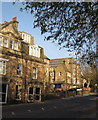 SE2955 : Buildings on Ripon Road, Harrogate by Derek Harper