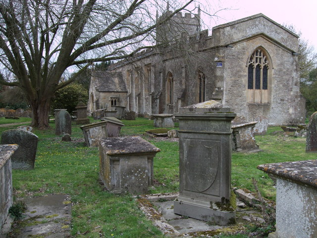 Keene monuments, St.Leonard's Church, Upper Minety
