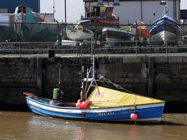 'Glad Tidings', Amble Harbour