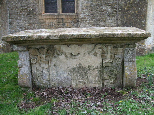 Mansell monument, St.Leonard's Church, Upper Minety
