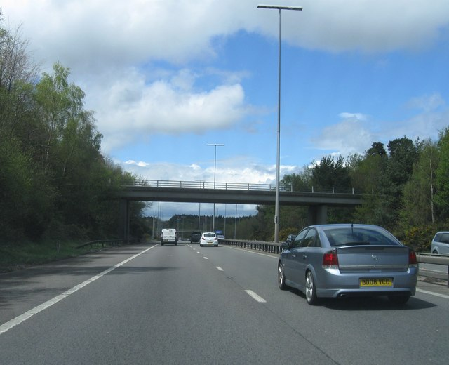 Hadrian Way bridge over M27