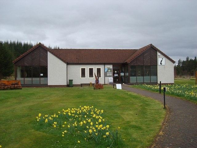 Ferrycroft Visitor Centre, Lairg