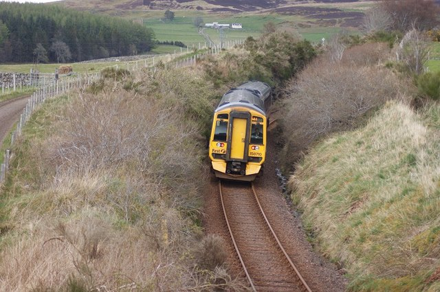 Class 158 by Lairg