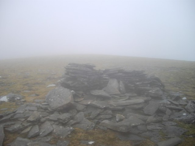 Cairn on Geal Charn