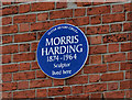 Photo of Morris Harding blue plaque