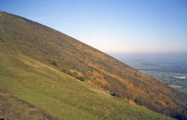 East flank of Pinnacle Hill
