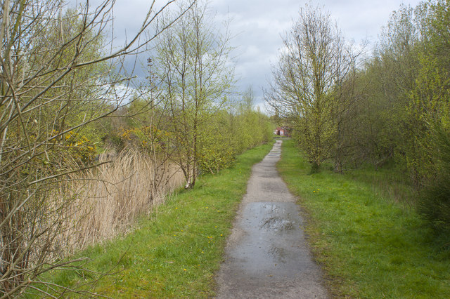 The tow path of the Bridgewater Canal