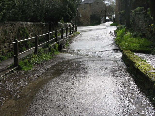 The ford at Shatton