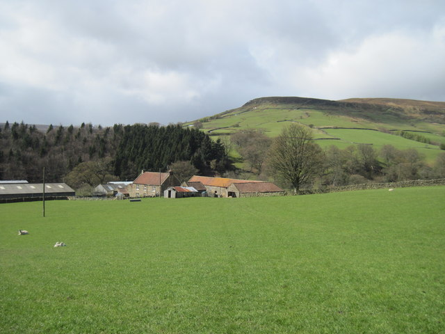 North  Gill  House  with  Potters  Nab  beyond