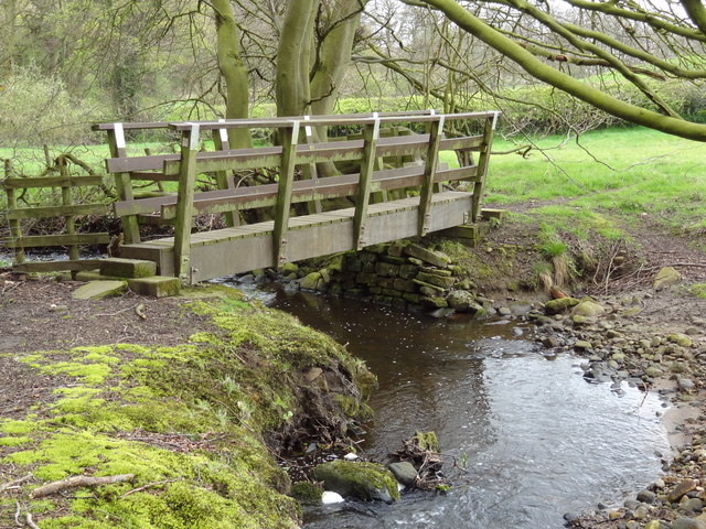 Footbridge over Park Brook