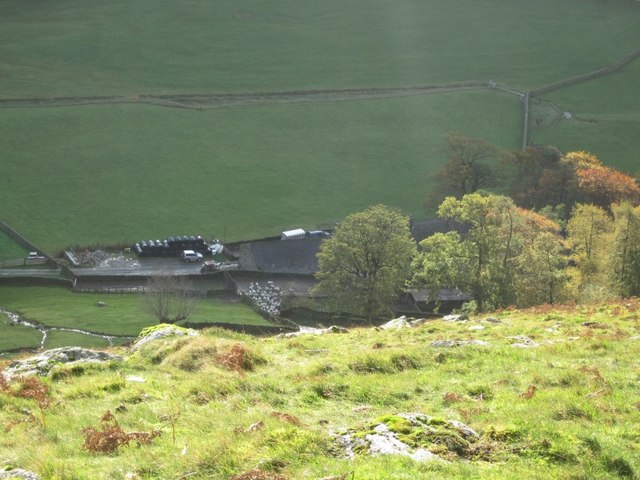 Braesteads Farm in the Grisdale Valley (Patterdale)