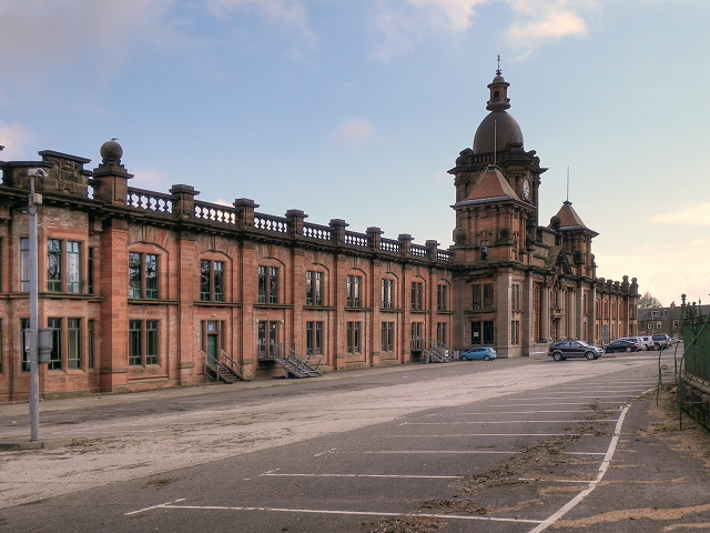 Argyll Motor Works, North Main Street