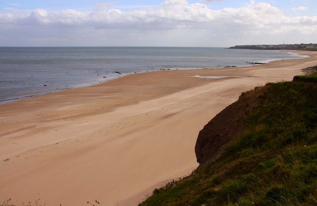 Whitley Sands from the Links
