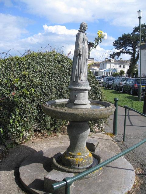 Memorial to Baroness Mount-Temple