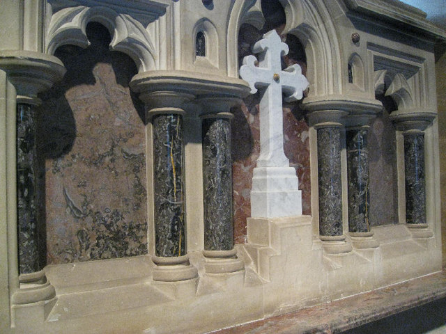 St  Bartholomew's Church - reredos