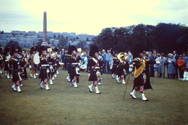 Gordon Highlanders, Beating the Retreat