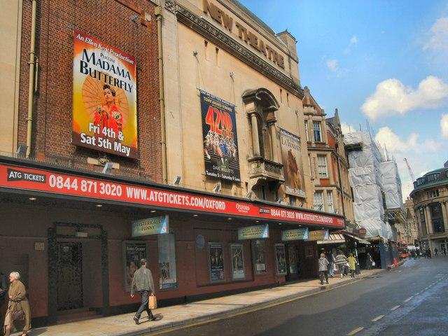 new theatre  oxford  u00a9 paul gillett    geograph britain and