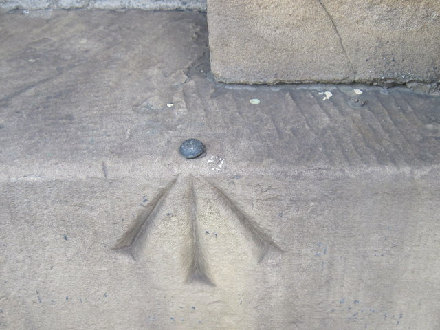 Ordnance Survey Rivet Bench Mark
