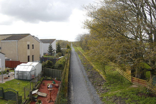 Site of Udny Station