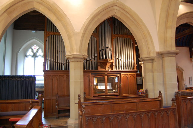 Organ, St Mary's church, Frittenden