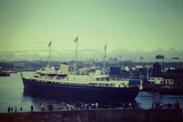 Britannia Entering Aberdeen