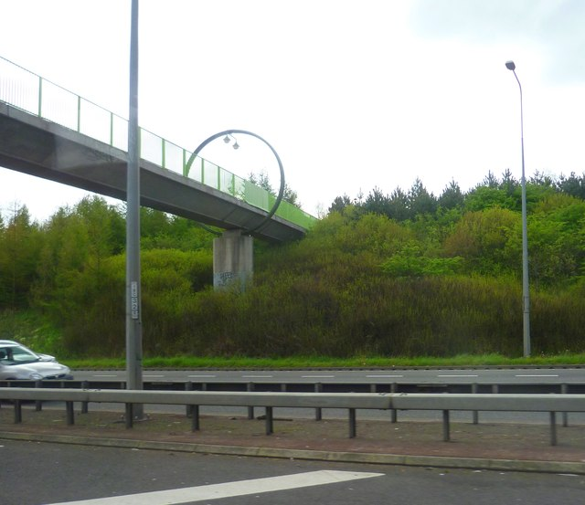 Footbridge at Heron Cross