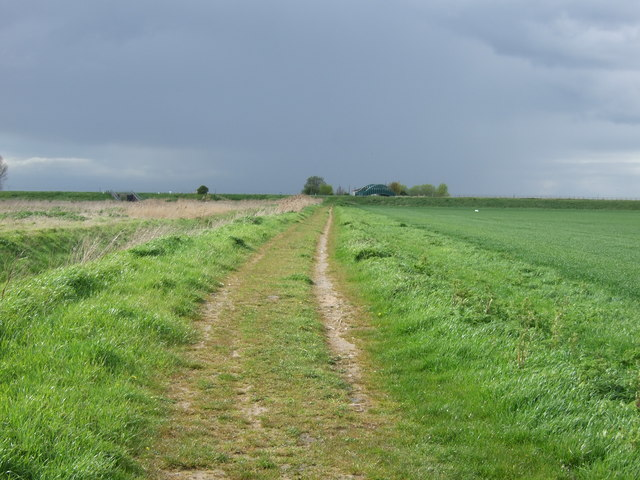 Footpath towards the River Welland