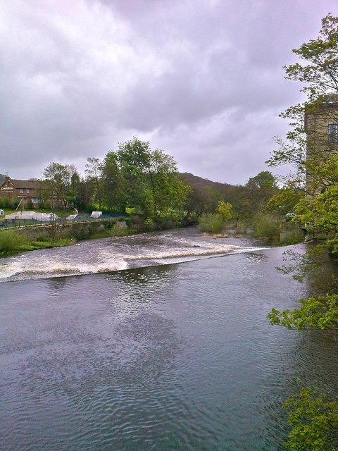 River Aire, Saltaire