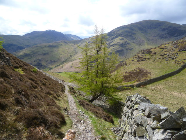 Descending Glenridding Dodd