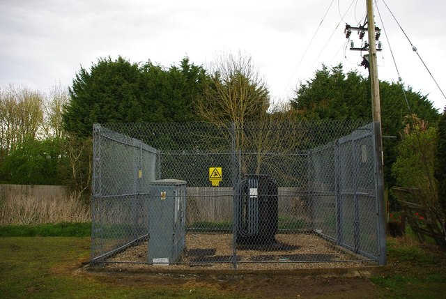 Meadow Croft Way sub-station, Orwell