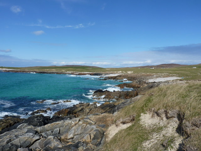 The coastline at Raicinis
