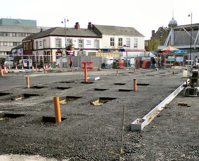 Hyde Market Renewal Work