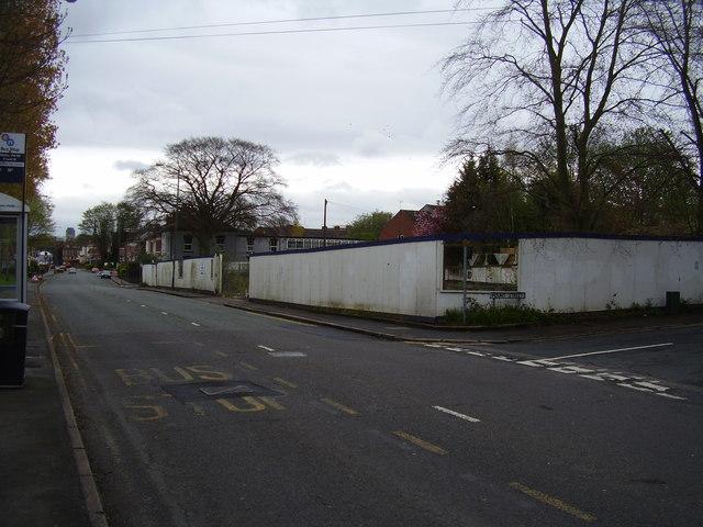 Derelict site, Mount Street