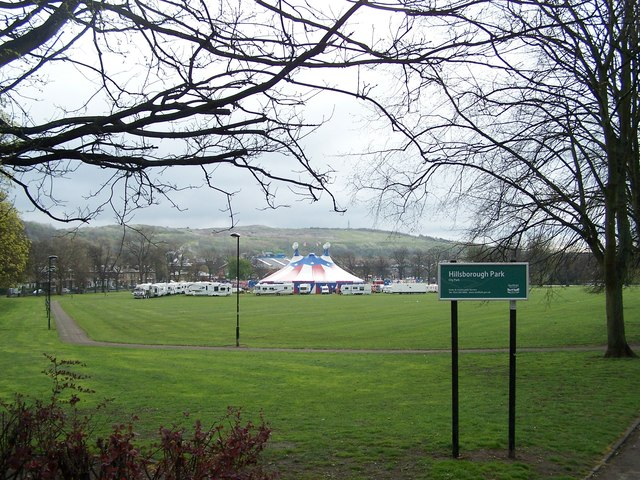 Circus Vegas in Hillsborough Park, Sheffield - 1
