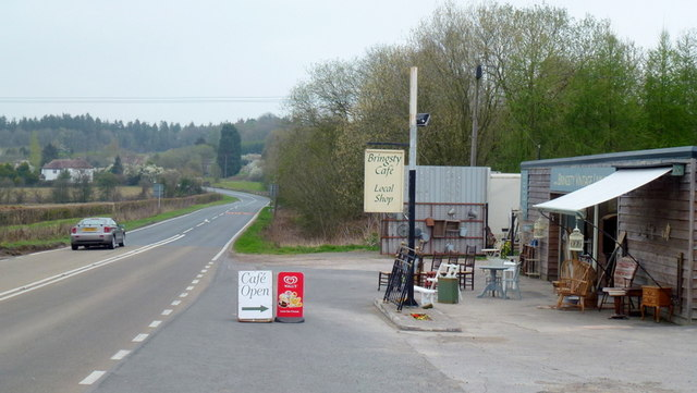 A44 at Bringsty Common